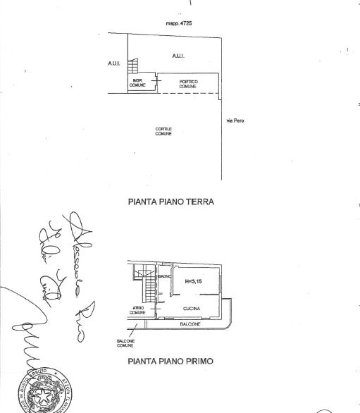 Puzzo planimetria Cassano Magnago